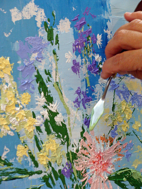 Palette knife examples2