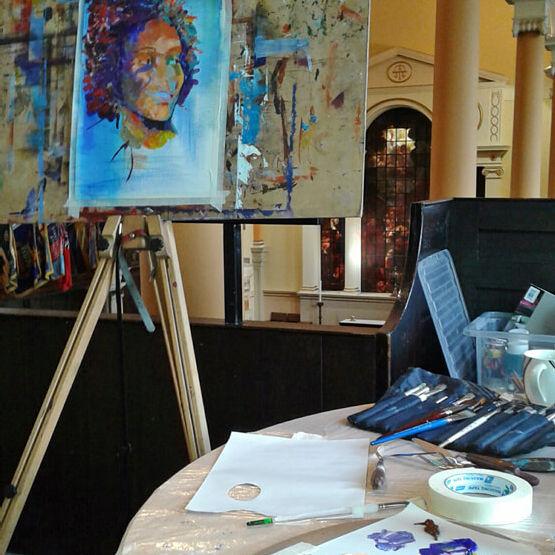 Saturday Morning Drawing and Painting